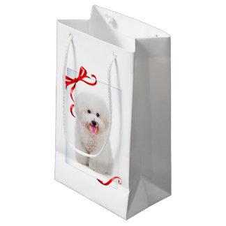 Bichon Christmas Gift Bag