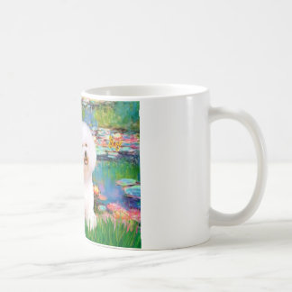 Bichon Frise 1 - Lilies 2 Basic White Mug