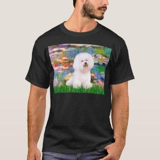 Bichon Frise 1 - Lilies 2 T-Shirt
