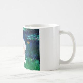 Bichon Frise 1 - Lilies #5 Basic White Mug