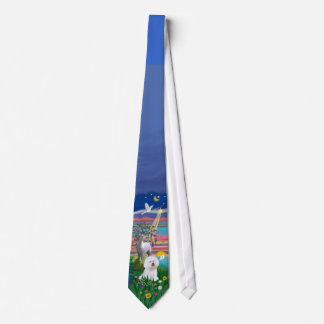 Bichon Frise 1 - Magical Night Tie