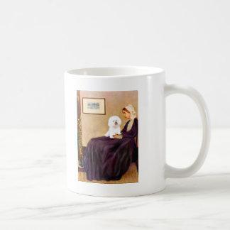Bichon Frise 1 - Whistlers Mother Basic White Mug