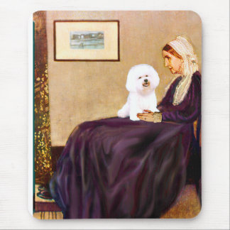 Bichon Frise 1 - Whistlers Mother Mouse Mat