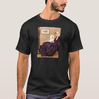 Bichon Frise 1 - Whistlers Mother T-Shirt