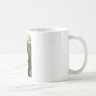 Bichon Frise 2R - Mona Lisa Basic White Mug