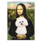 Bichon Frise 2R - Mona Lisa Card