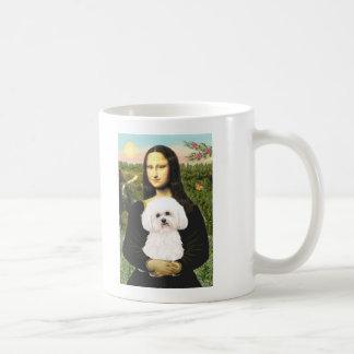 Bichon Frise 2R - Mona Lisa Classic White Coffee Mug