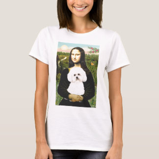 Bichon Frise 2R - Mona Lisa T-Shirt