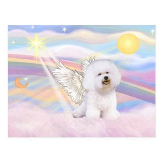 Bichon Frise Angel Postcard