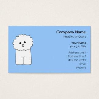 Bichon Frise. Business Card