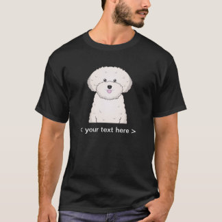 Bichon Frise Cartoon Personalized T-Shirt