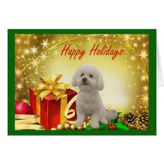 Bichon Frise Christmas Card Gifts