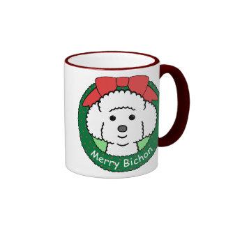 Bichon Frise Christmas Mug