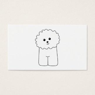 Bichon Frise, Cute Dog. Business Card