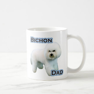 Bichon Frise Dad 4 Coffee Mug