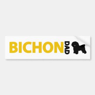 Bichon Frise Dad Bumper Sticker