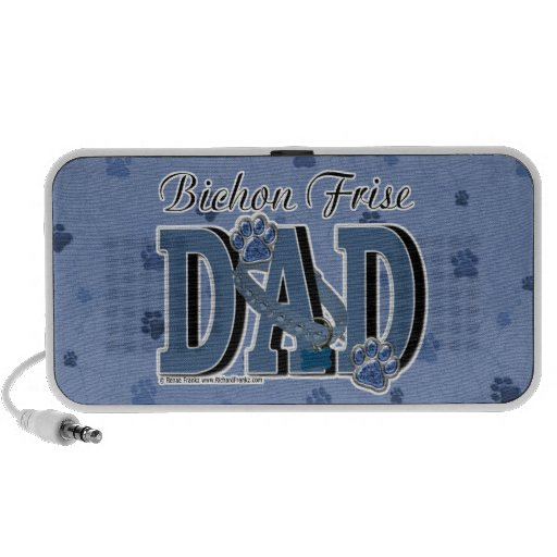 Bichon Frise DAD iPod Speakers