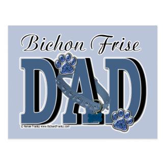 Bichon Frise DAD Post Cards