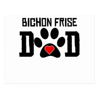 Bichon Frise Dad Postcards