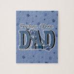 Bichon Frise DAD Puzzle