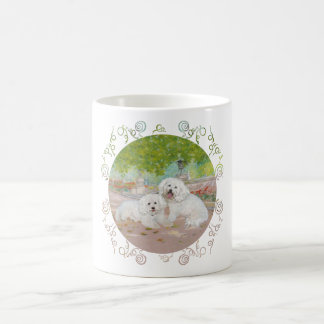 Bichon Frise Dappled Shade Coffee Mug
