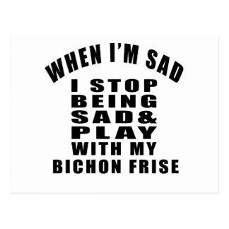 BICHON FRISE Designs Postcard