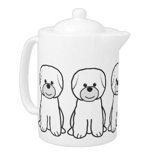 Bichon Frise Dog Cartoon