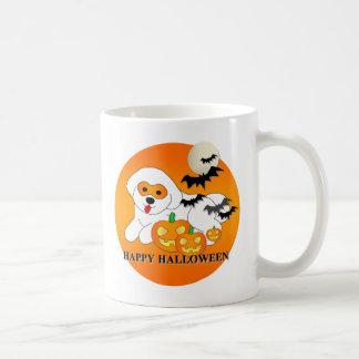 Bichon Frise Dog Halloween Mug