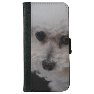 Bichon Frise Dog iPhone 6 Wallet Case