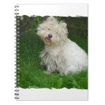 Bichon Frise Dog Notebook