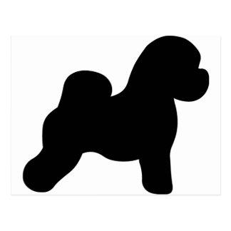 Bichon Frise Dog Postcard