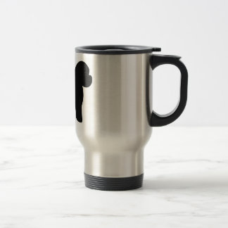 Bichon Frise Dog Travel Mug