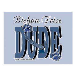 Bichon Frise DUDE Post Cards