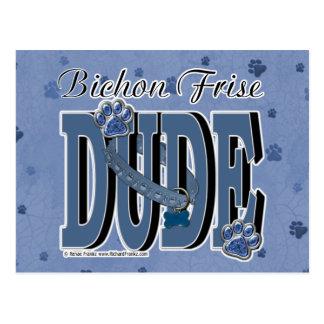 Bichon Frise DUDE Postcard