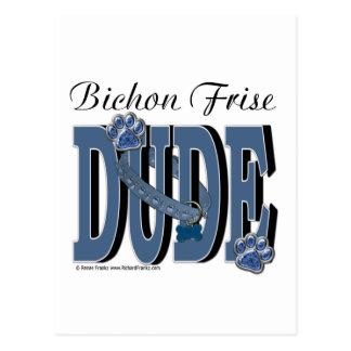 Bichon Frise DUDE Postcards