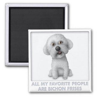 Bichon Frise Favorite Magnet