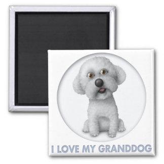 Bichon Frise Granddog Magnet