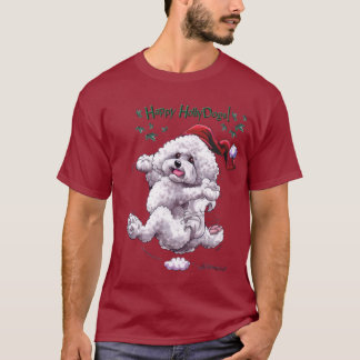 Bichon Frise Holiday t shirt
