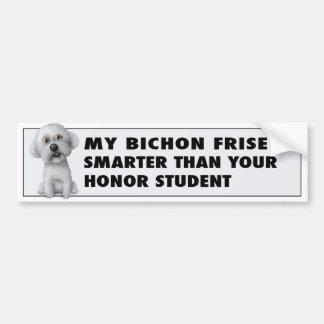 Bichon Frise Honor Bumper Sticker
