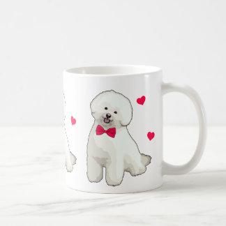 Bichon Frise Illustrated Coffee Mug
