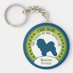 Bichon Frise Key Chains
