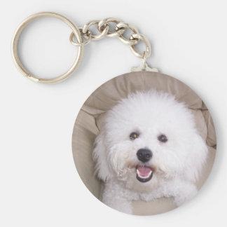 Bichon Frise Key Ring