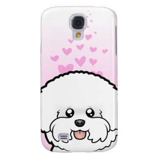 Bichon Frise Love Galaxy S4 Case