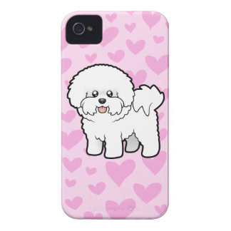 Bichon Frise Love iPhone 4 Case-Mate Cases