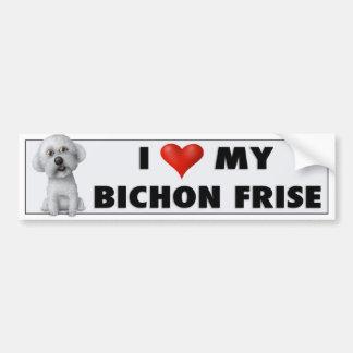 Bichon Frise Love Sticker