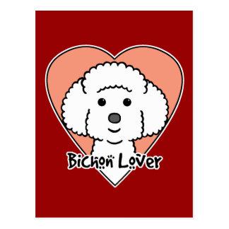 Bichon Frise Lover Postcard
