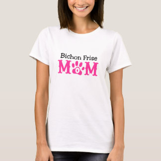 Bichon Frise Mom Apparel T-Shirt