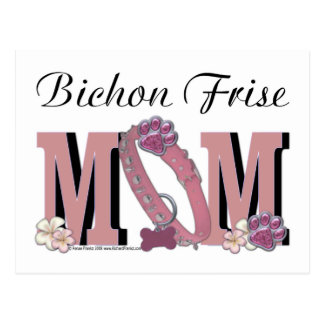 Bichon Frise MOM Postcard