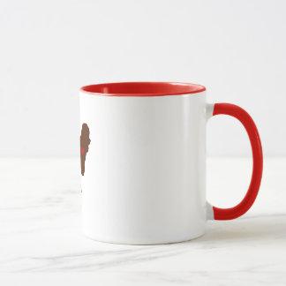 Bichon Frise Mom [Tattoo style] Mug