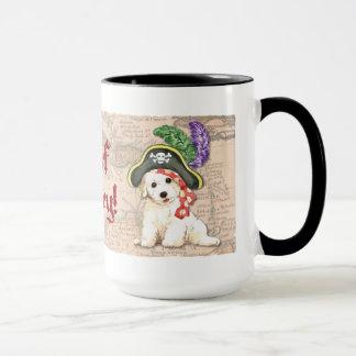 Bichon Frise Pirate Mug